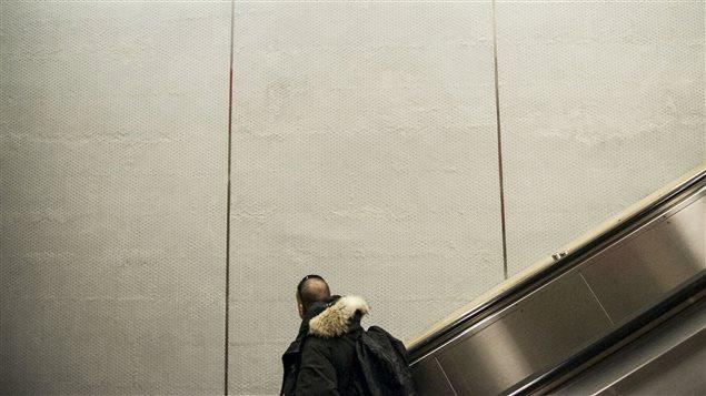 Finis muraux, station Berri-UQAM.