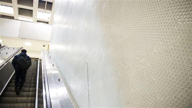Finis muraux, station Berri-UQAM