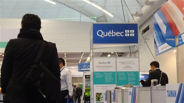 Plusieurs provinces ont des kiosques au Globe 2016.