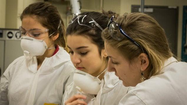 Les filles et les sciences