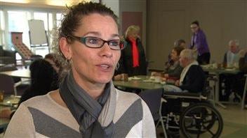 Originaire de l'Ontario, Lucie Reuvers occupe depuis deux ans le poste de directrice des soins à la Villa Youville.