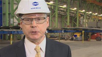 Le président de Irving Shipbuilding, Kevin McCoy