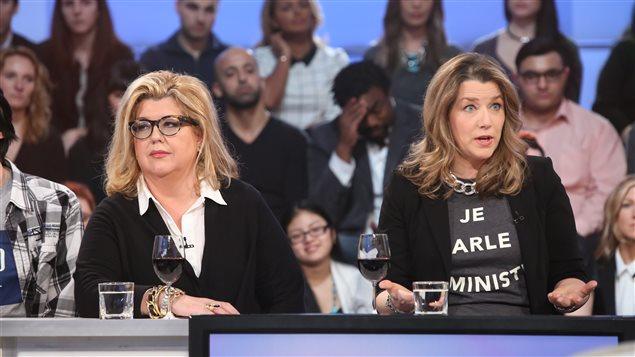 Geneviève St-Germain et Sophie Durocher