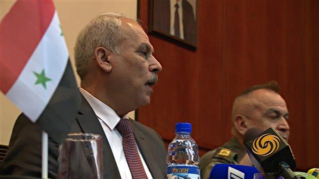 Ali Khaidar, ministre de la Réconciliation nationale de la Syrie