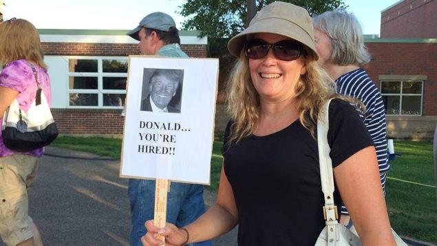 Un rassemblement pro-Trump à Hampton, au New Hampshire, le 14 août 2015.