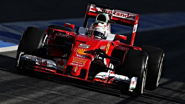 Sebastian Vettel à Barcelone