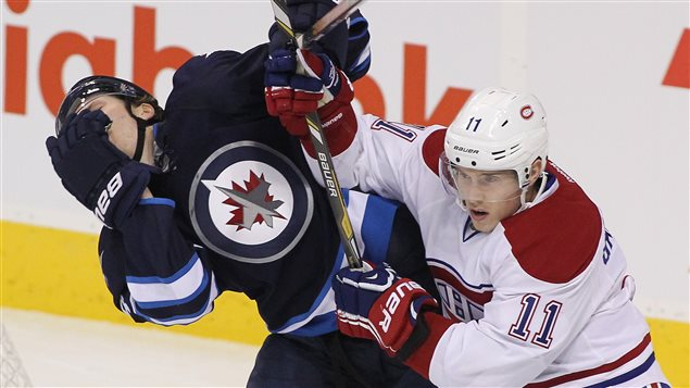 Jacob Trouba et Brendan Gallagher