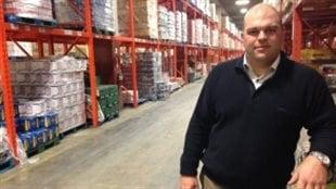 Brian Harriman, le PDG d'Alcool Nouveau-Brunswick.
