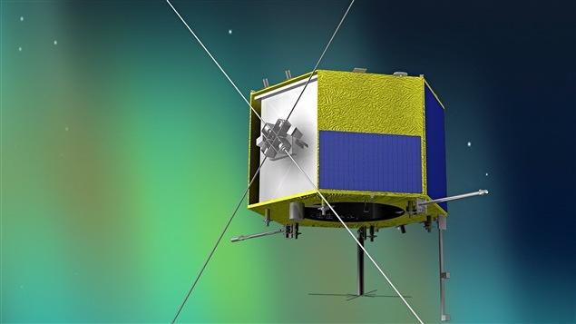 Le mini-satellite polyvalent CASSIOPE , lancé en 2013, a été développé par l'Agence d'aérospatiale canadienne.