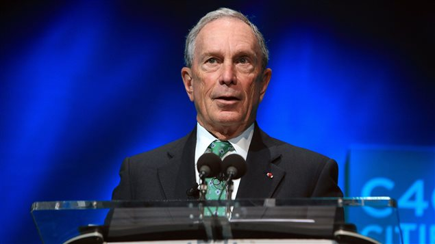 L'ex-maire de New York Michael Bloomberg