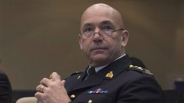 Le commissaire de la GRC Bob Paulson