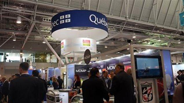Le Québec au Seafood Expo à Boston