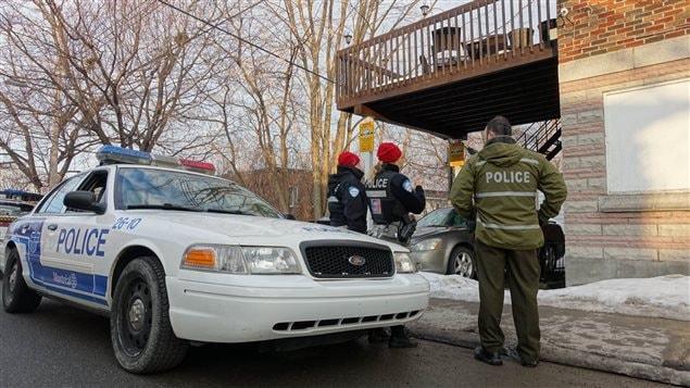 Opération policière anti-drogue à Montréal