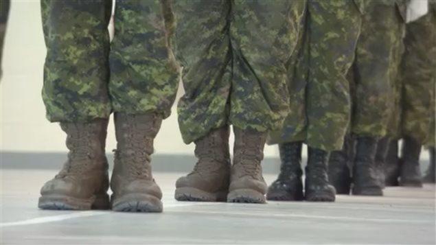 Des militaires de la base de Petawawa. (Archives)