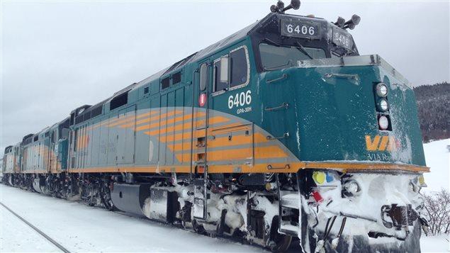 Un train de passagers a été immobilisé plusieurs heures à Saint-Simon.