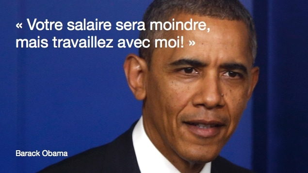 Obama et les gens de Silicon Valley.