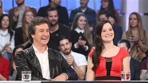 René Simard et sa fille Rosalie