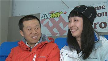 Frank Niu et Sharon Wang
