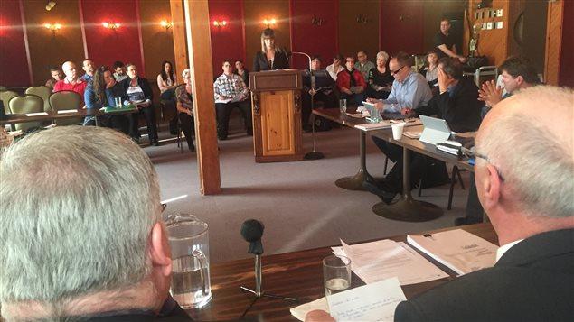Séance publique du Conseil d'administration du Centre intégré de santé et de services sociaux de l'Abitibi-Témiscamingue.