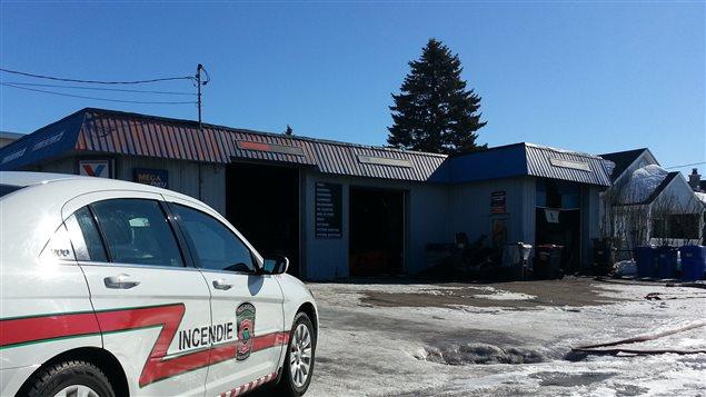 incendie dans un garage de trois rivi res secteur cap de