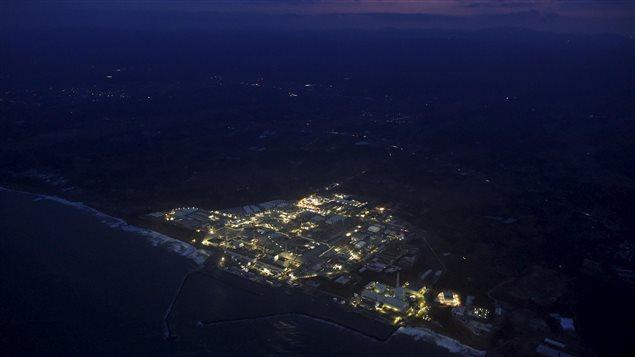 La centrale désaffectée de Fukushima-Daiichi.