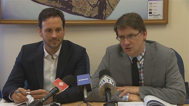 Alexandre Cloutier et Sylvain Gaudreault