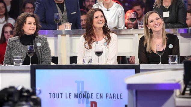 Marie Cayer, Geneviève Dion et Marilyne Picard