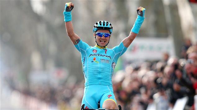 Alexey Lutsenko, vainqueur de la 5e étape du Paris-Nice