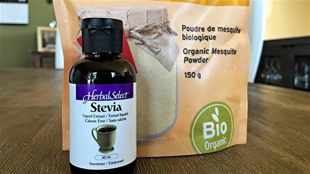 Notre journalisme Janic Tremblay a décidé de tester la stevia et le mesquite, deux produits alternatifs au sucre.