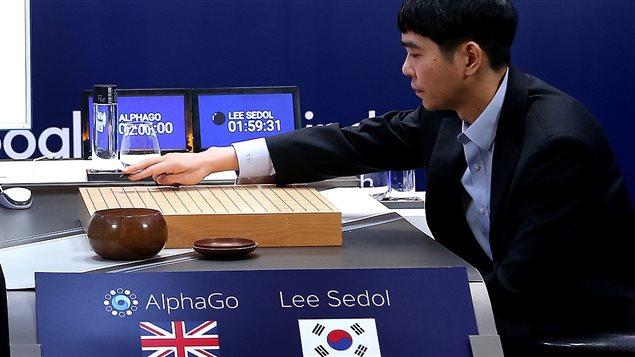 Lee Sedol contre le logiciel de Google, AlphaGo