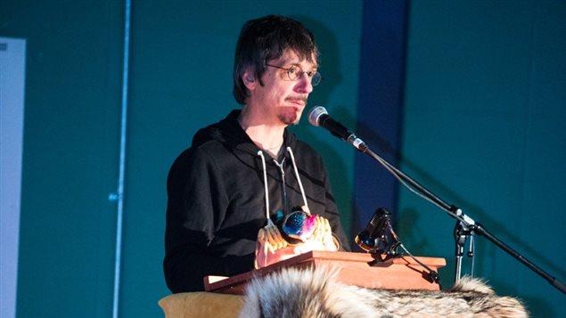 Philippe Falardeau à Pikogan.