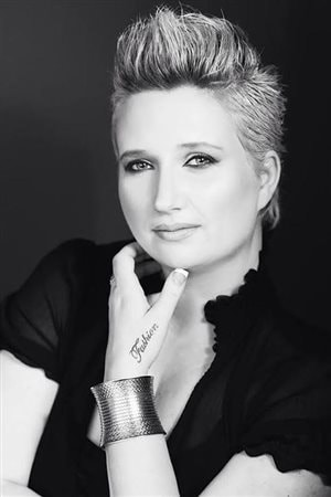 La designer Melany Rowe