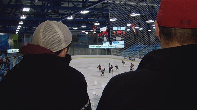 Match de hockey dans la région de Kent