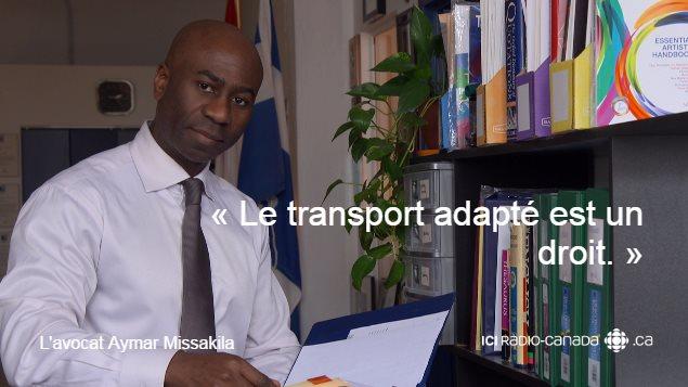 L'avocat Aymar Missakila