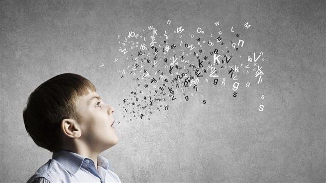 Un garçon et des lettres