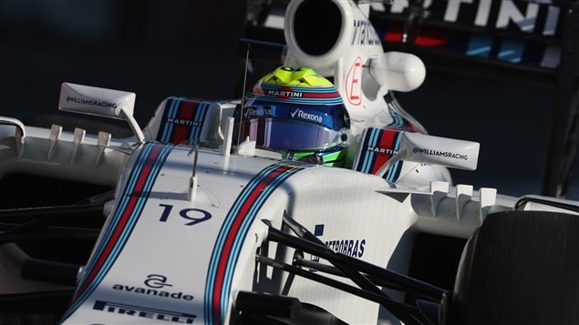Felipe Massa dans sa Williams