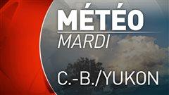 Météo : soleil sur les côtes, nuages et pluie dans l'intérieur