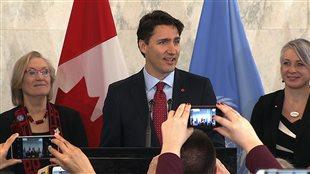 Justin Trudeau à l'ONU à New York