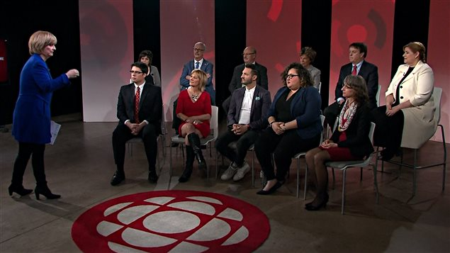 Forum animé par Anne-Marie Dussault sur la francophonie au Canada