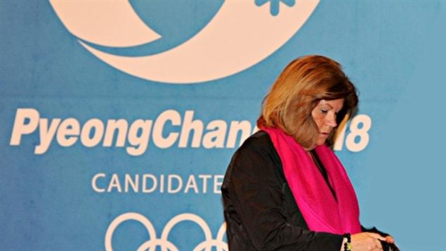 Gunilla Lindberg à Pyeongchang