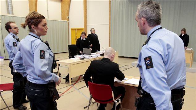 Anders Behring Breivik a été entendu dans le cadre de son procès mercredi. Il s'agissait de ses premières déclarations publiques depuis son procès, en 2012.