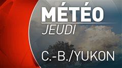 Météo : deux jours ensoleillés en C.-B., nuages et pluie à Whitehorse