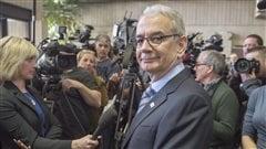 Robert Lafrenière satisfait de la peine de prison de Gilles Vaillancourt