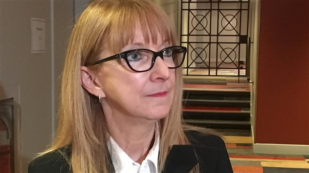 La vice-présidente aux services juridiques de CBC/Radio-Canada, Sylvie Gadoury