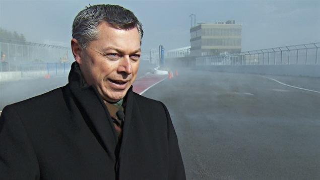 François Dumontier, promoteur du Grand Prix du Canada