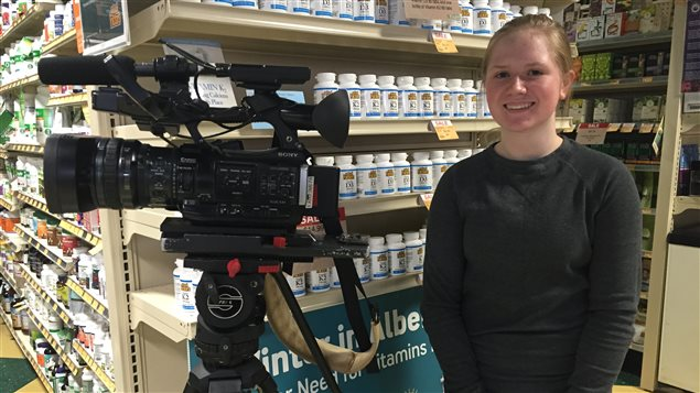 Natalie Herkendaal, participante de Jeun'Info Alberta en 2016