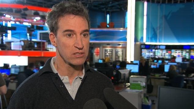 Bernard Mathieu, président de l'Association des médecins d'urgence du Québec