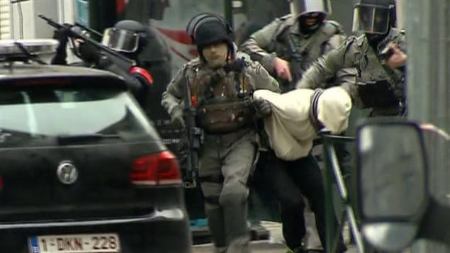 Arrestation de Salah Abdeslam dans le quartier bruxellois de Molenbeek