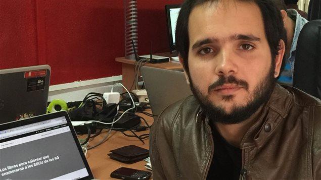 Le blogueur cubain David Vasquez Abella