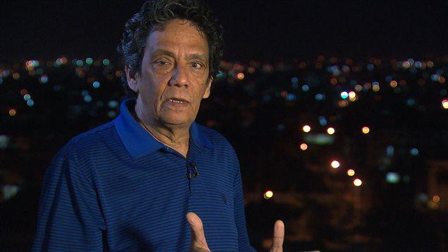 Osvaldo Cardenas, rédacteur en chef du journal «14 y medio», bloqué à Cuba